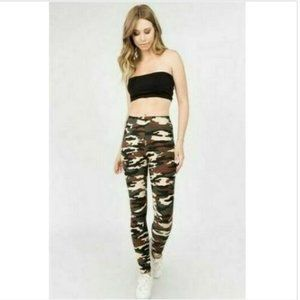 Camouflage Camo Print Buttery Soft Leggings
